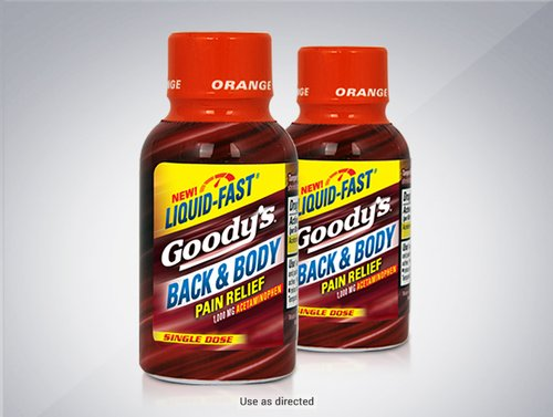 Goody's® Back & Body Single Dose