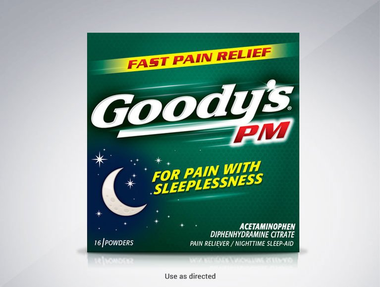 Goody's® PM for Pain with Sleeplessness Powder