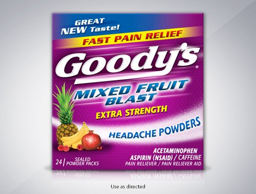 Goody's® Mixed Fruit Blast Headache Powder